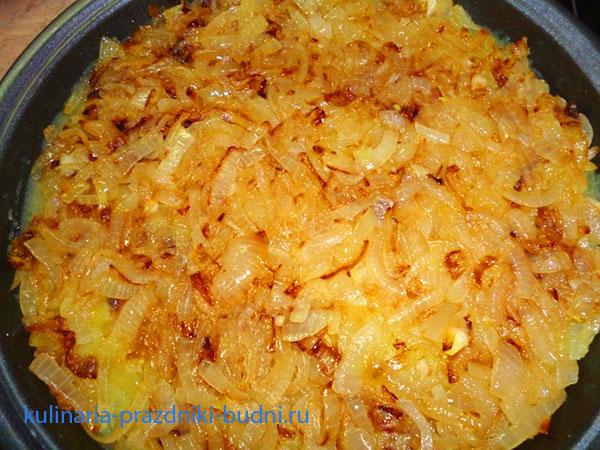 Готовить картофельную запеканку с фаршем