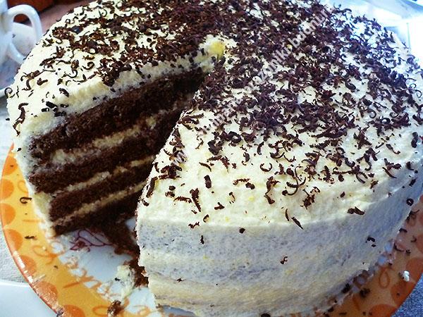 Торт с манкой птичье молоко рецепт