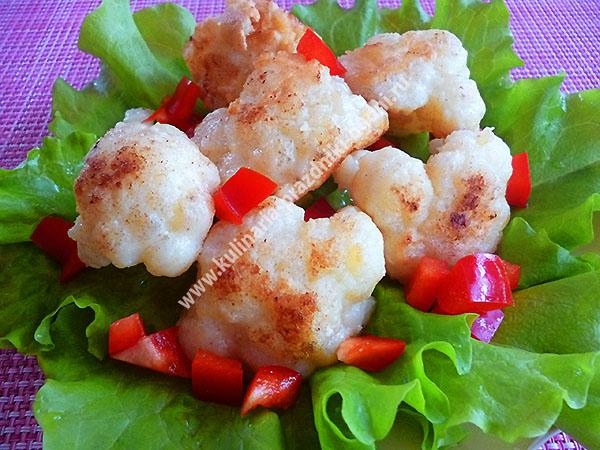 Вкусный кляр для цветной капусты рецепт