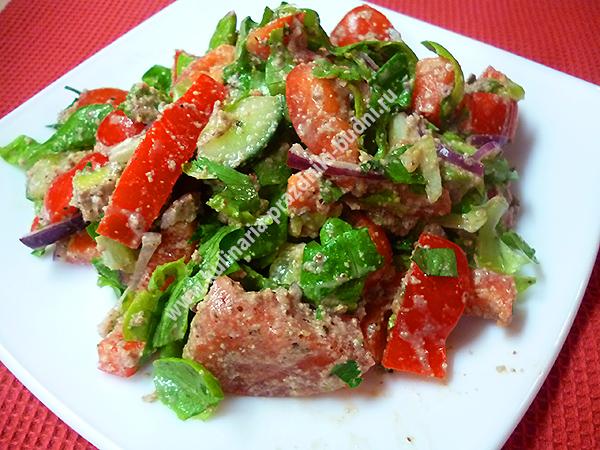 Салаты без майонеза рецепты с простые и вкусные диетические