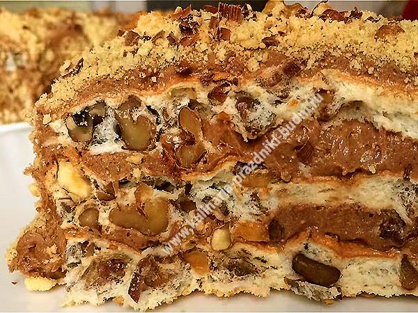 Торт рецепт без муки