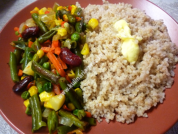 Каши с овощамиы