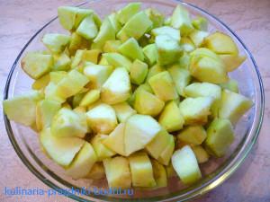 шарлотка яблочная фото