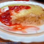 Запеканка рисовая с яблоками