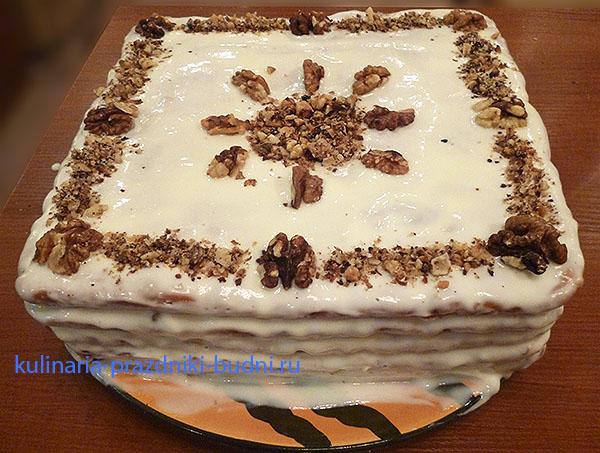 торты с медом рецепты с фото
