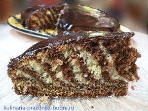 фото торт Зебра