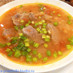 Суп гороховый из свинины