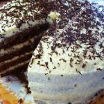 Торт Птичье молоко с манкой