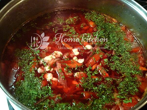борщ рецепт классический с фото пошагово с говядиной