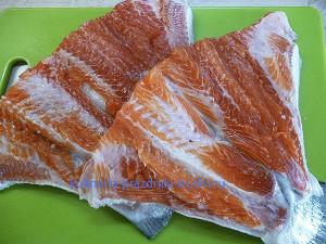 Котлеты из красной рыбы