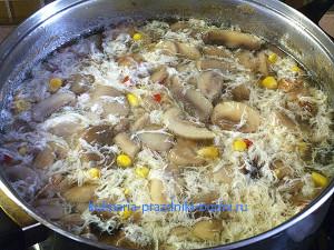 Суп куриный китайский