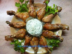 Куриные ножки с соусом рецепт фото