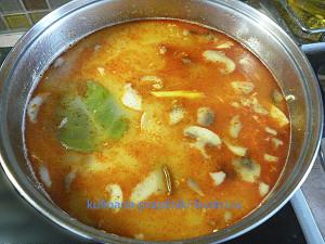 Суп Том Ям рецепт с фото