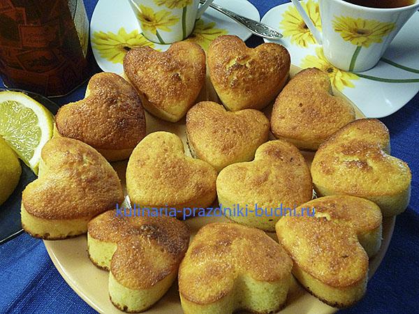 Кекс лимонный рецепт с фото