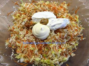 Салат из шинкованной капусты