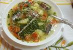 Рыбный суп из сайры