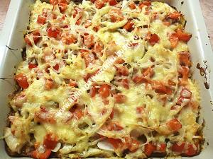 Диетическая пицца фото