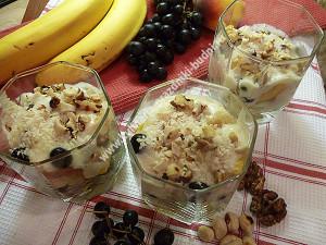 фруктовый десерт фото