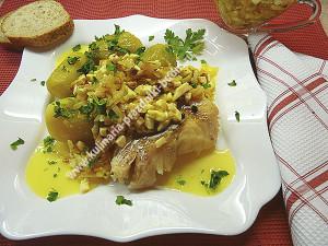 Треска по польски рецепт с фото