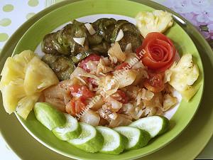 Жареные овощи фото