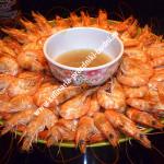 Креветки с лаймовым соусом