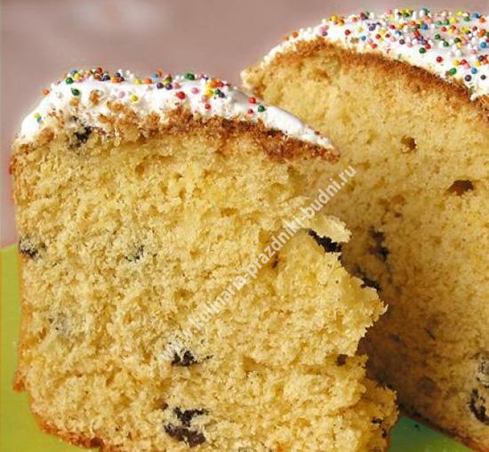 Пасхальный кулич в хлебопечке рецепт с фото