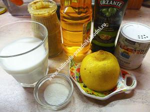 Майонез домашний с горчицей