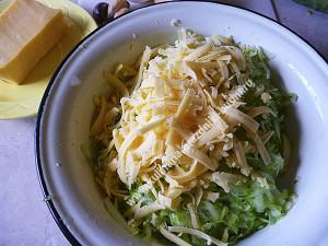 Оладьи из кабачка с сыром рецепт с фото