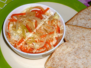 Рецепт салата с кабачками фото