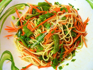 салат из лапши рецепт с фото
