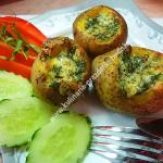 Картошка под сыром