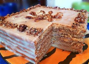 Торт с медовыми коржами