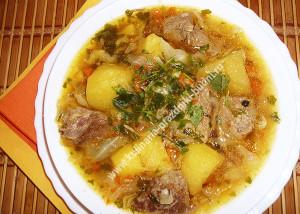 Мясо по деревенски рецепт с фото