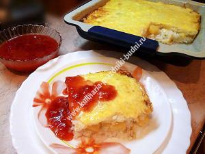 Рисовая запеканка в духовке рецепт с фото