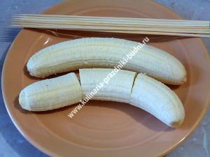 Банан в шоколаде фото