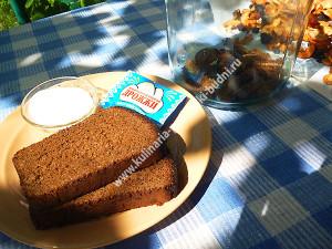 Домашний хлебный квас фото