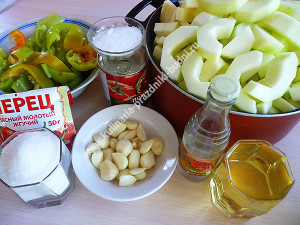 Кабачковая аджика рецепт с фото