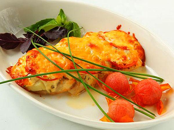 Рыба по-французски фото
