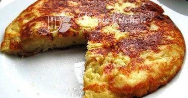 Ленивый хачапури с сыром фото
