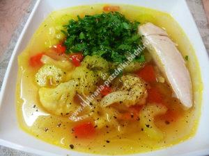 Вкусный овощной суп рецепт с фото