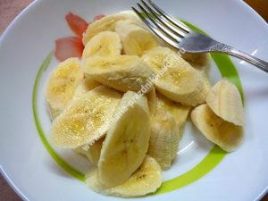 Овсяное печенье с бананом фото