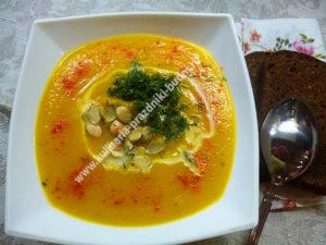 Суп-пюре из тыквы рецепт с фото