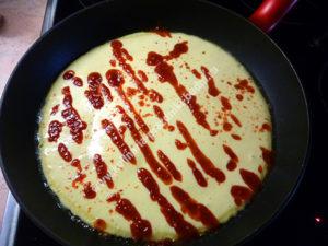 Быстрая пицца на сковороде фото