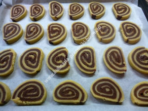 Печенье Улитка фото