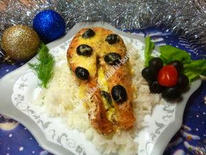 Красная рыба в сливках рецепт с фото
