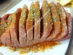 Гармошка из свинины рецепт с фото