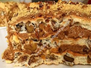 Торт без муки рецепт с фото