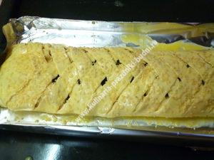 Слоеный пирог с курицей фото