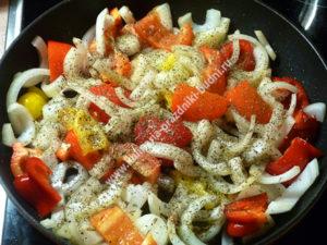 Куриное филе с овощами рецепт с фото