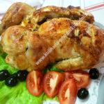 Фаршированная курица с черносливом